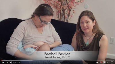 Breastfeeding-Football Position - Video
