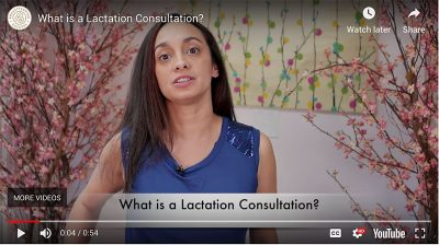 What is a lactation consultation? Video