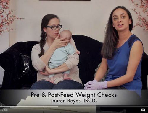 Pre and Post Feed Breastfeeding Weight Checks